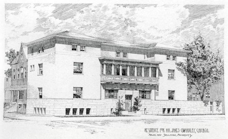 603 best louis sullivan 1856 1924 images on pinterest for Frank lloyd wright casa della prateria