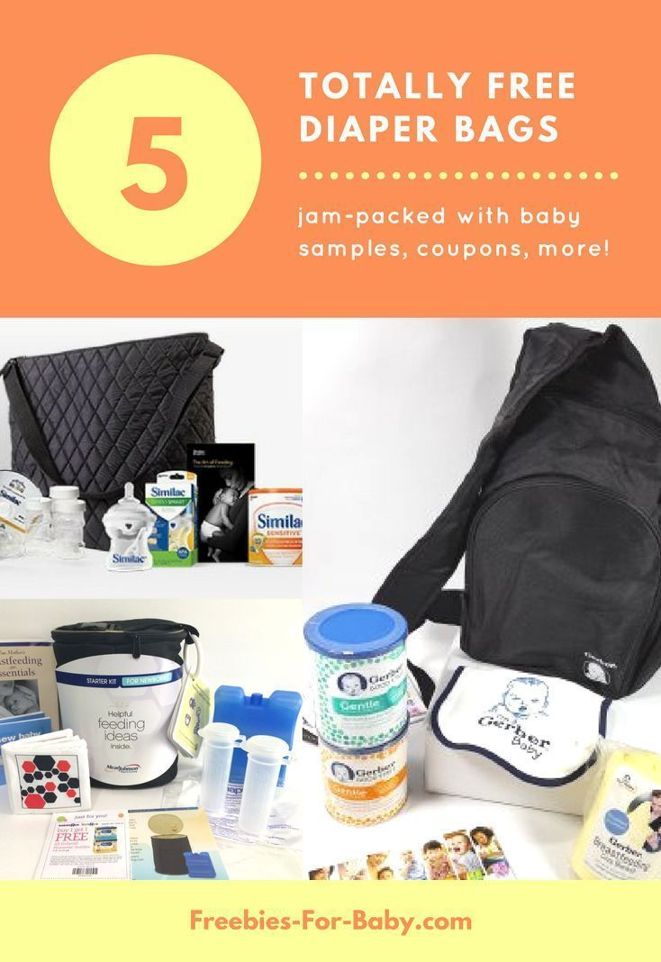 5 Free Diaper Bags Filled With Baby Samples Coupons More Go To Http Freebies For Baby Com 3387 5 Free Diape Free Diapers Free Diaper Bags Baby Samples