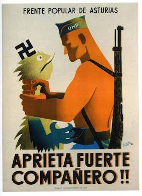 Spain - 1936-39. - GC - poster - Ultimo manifiesto del Comité de Sama.