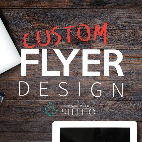 Flyer Design  Graphic Design  Custom Graphic by workwithstellio