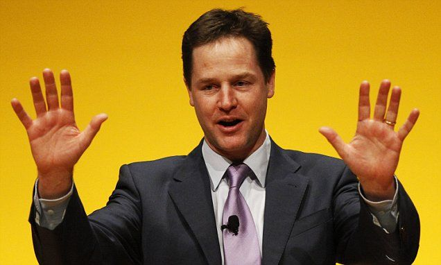 Nick Clegg still peddling his Pro EU Lies Clegg's Brexit security warning dismissed by former Met terror chief