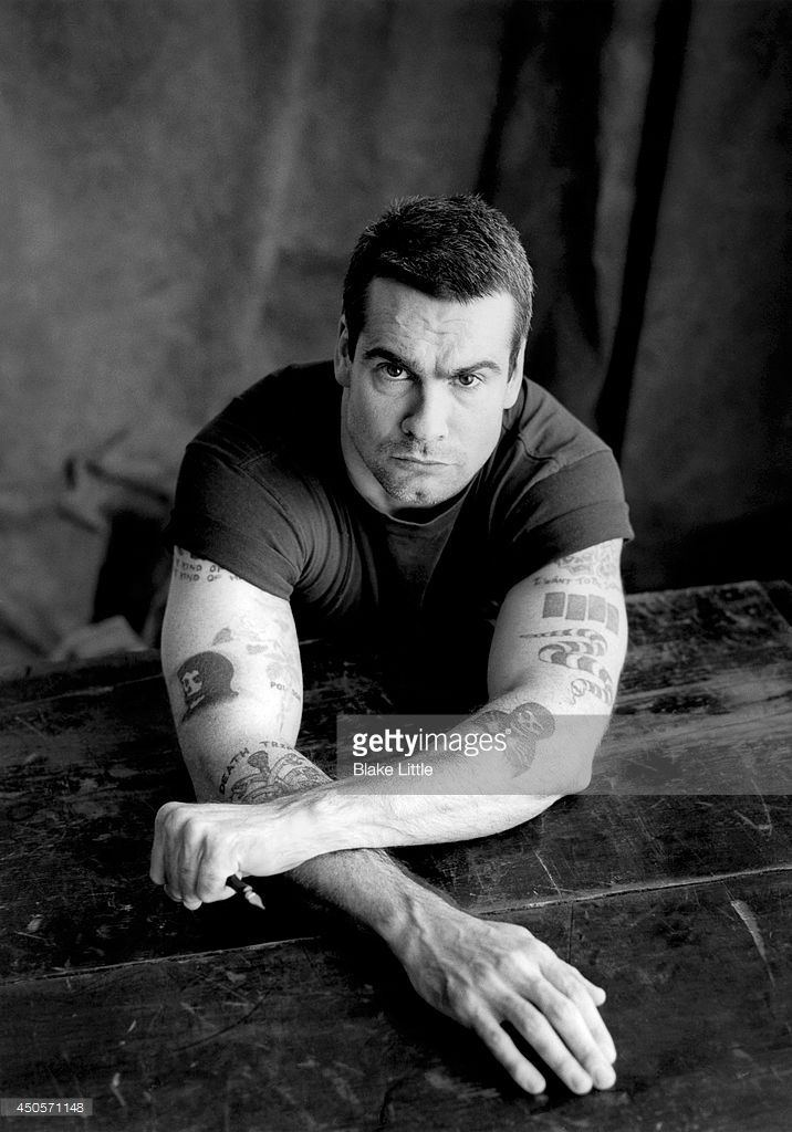 News Photo : Henry Rollins is photographed for Frontiers...