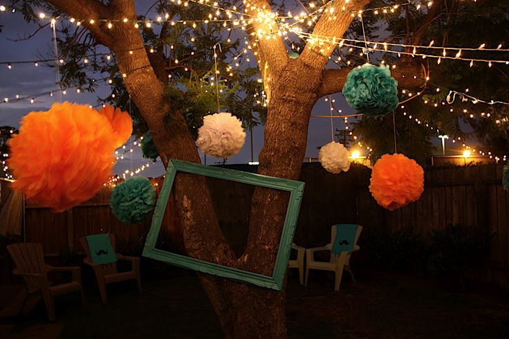 Backyard Party Ideas For Adults | Mustache Bash 1st Birthday Party Ideas - Blissfully Ever After
