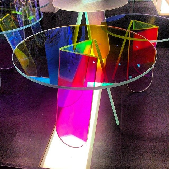 Shimmer by Patricia Urquiola for Glas Italia #isaloni #milandesignweek #glasitalia #stylish #modern #luxury #design #furniture