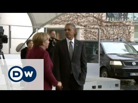 Embattled EU leaders meet in Berlin | DW News