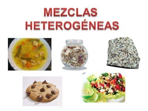 6 Mezcla Heterogénea Química 1 Mezclas Homogéneas Y Heterogéneas Dgb 106
