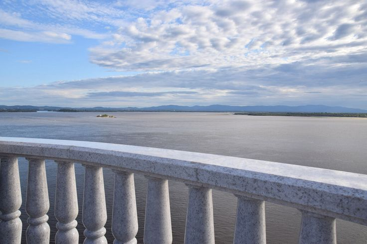 Amur river, viewing platform