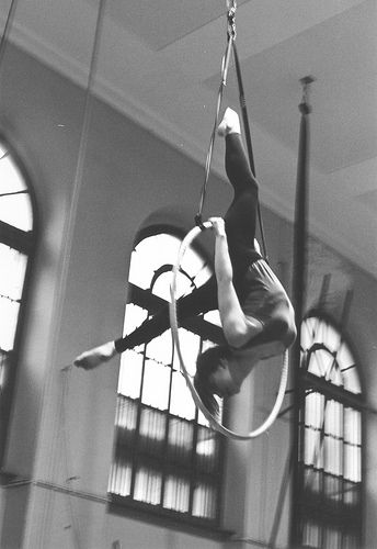 aerial hoop, that's me :)