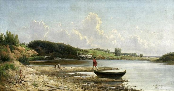 Аммосов Рыбак у берега