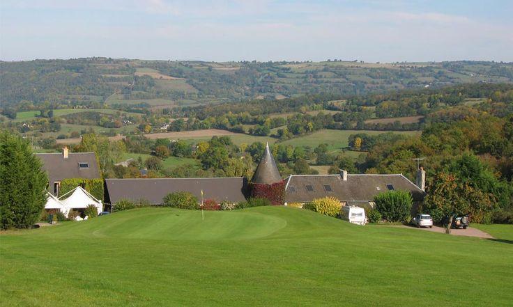 Hotel du Golf de Clécy in Clécy, France #hotel #normandy #calvados #golf #view