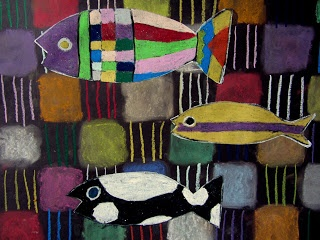 Neem zeker een kijkje naar 'De magie van vissen' van Paul Klee in onze museumcollectie! Ga zelf aan de slag en teken kleurrijke vissen in een donkere onderwaterwereld.