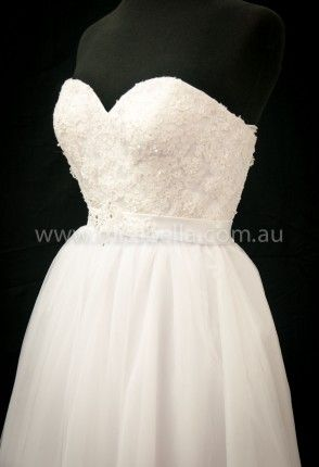 Cheap Deb Dresses and Wedding Dresses Melbourne beaded bodice belt sweet heart neckline deb dress melbourne tulle skirt princess style