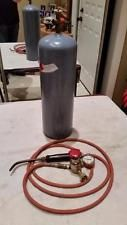 ACETYLENE WELDING SET TORCH AND TANK