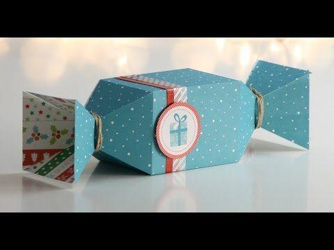 Cajitas para regalo originales: candy box y tetrabrik box paso a paso | ...