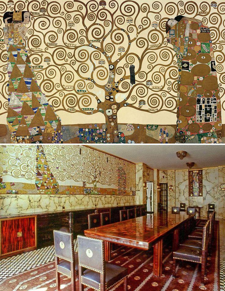 in Austria che, all'inizio del XX secolo, viene realizzato l'albero della vita più famoso di tutta la storia dell'arte.  (da L'albero della vita nella storia dell'arte   DidatticarteBlog)