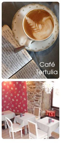 Un lugar decorado con mucho encanto, ideal para tomarte un café bien hecho en su vajilla tan esquisita. Es una buena opción si decides pasarte a desayunar o merendar. Gran variedad de tés en su carta. El bar es pequeño, pero muy acogedor. Merece la pena hacer una paradita.