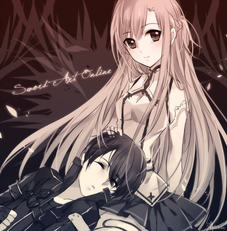 Kirito & Asuna - By Sword Art Online Kirito and Asuna ღ