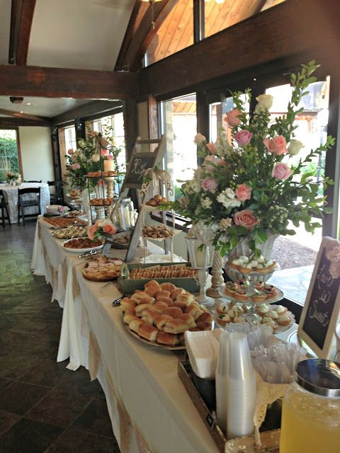 25 best buffet table wedding ideas on pinterest - Buffet table integree ...