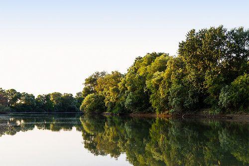 Kuban river / река Кубань