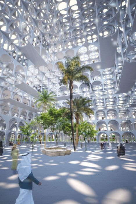 Sou Fujimoto designs masterplan made from modular arches