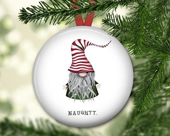 Christmas gnome ornament for tree farmhouse Christmas