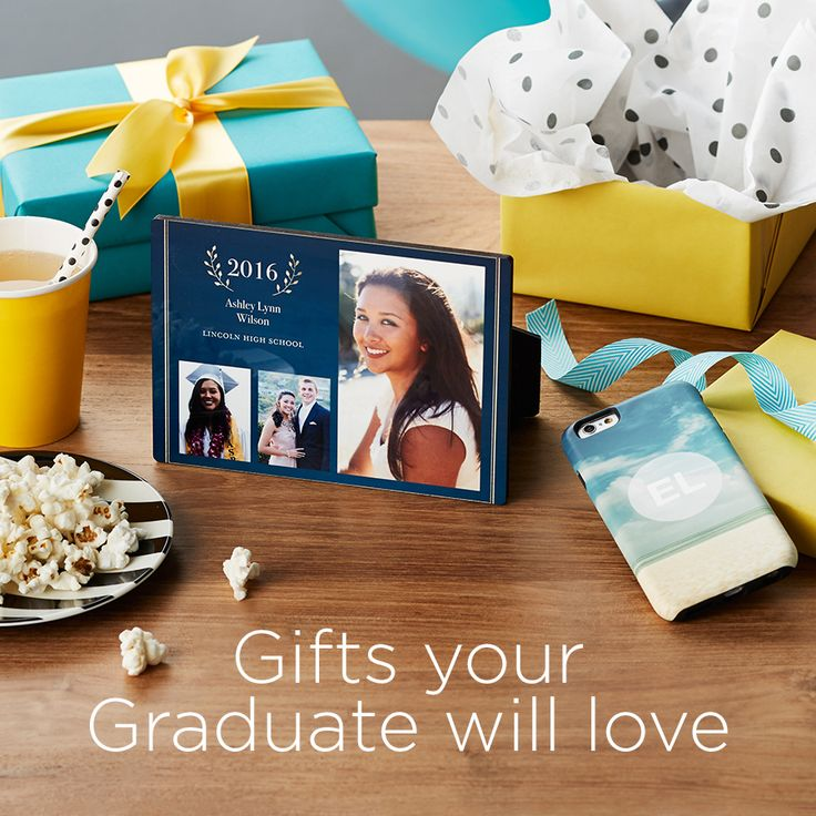 Create a custom photo gift your graduate will love. Give the class of 2016 something they will treasure forever.