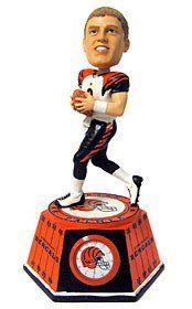 Cincinnati Bengals Carson Palmer Forever Collectibles Bobble Head Clock