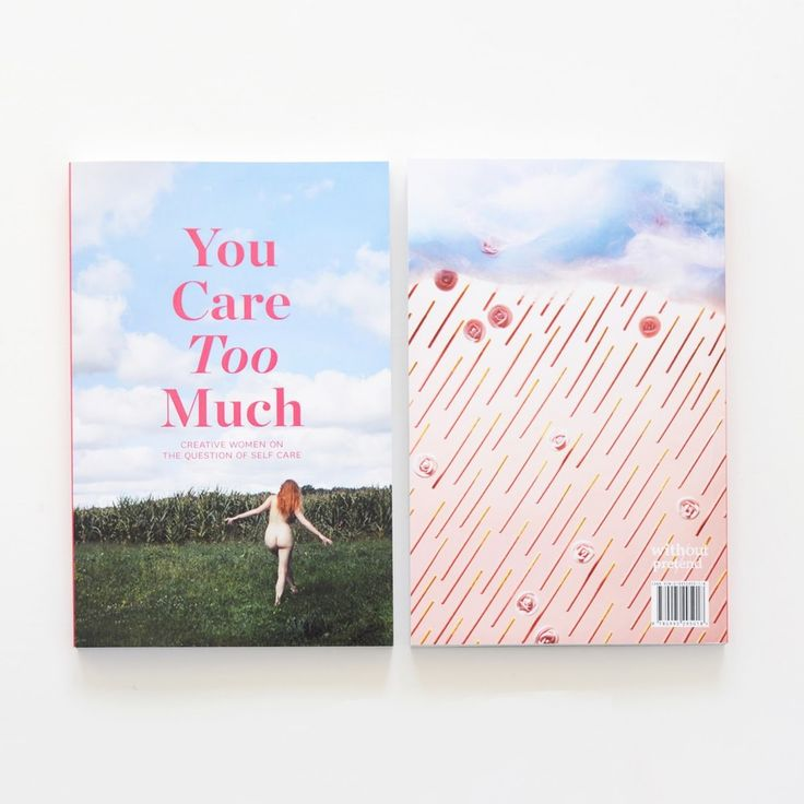 Image of You Care Too Much - Book