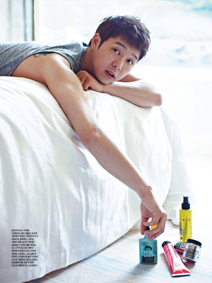 Yoochun - Singles Magazine July Issue '14