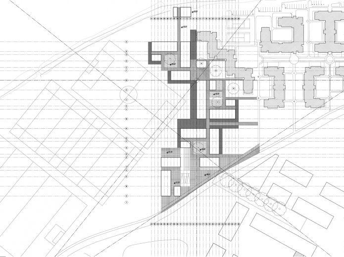 heneghan peng architects - Student Housing, National University of Ireland, Maynooth
