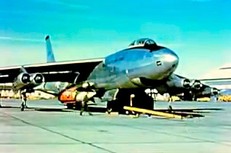 USAF Strategic Air Command Boeing B-47 Stratojet.