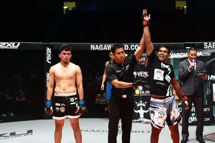Catchweight bout (82kg): Agilan Thani defeats Reant Fabriza Rainir by TKO (Strikes) at 1:21 minutes of round 1