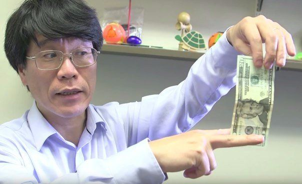 The scientific explanation of why it is impossible to catch a dollar bill with two fingers