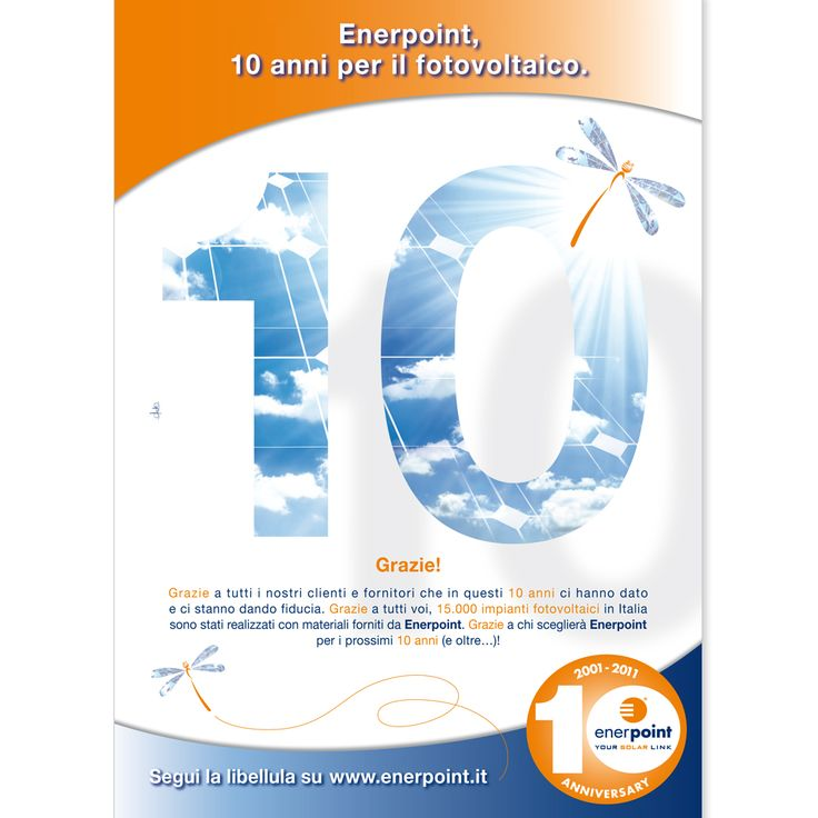 ENERPOINT Campagna 2011 - 10 Anni