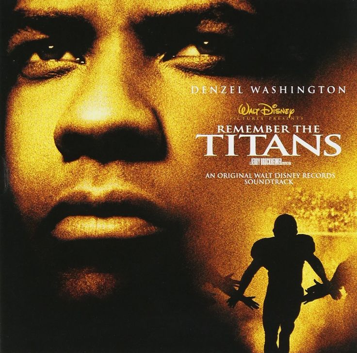 """Remember The Titans"" movie soundtrack, 2000."