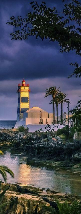 Cascais #Lighthouse - #Portugal    http://dennisharper.lnf.com/