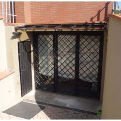 Shelter Canopy Stainless Steel. Wrought Iron. Customize Realizations. 350