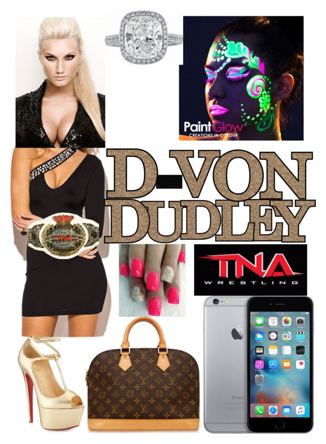 """tna d-von Dudley wife Brooke Hogan's twin sister"" by donald3600 ❤ liked on Polyvore featuring Hogan, iittala, TNA, Louis Vuitton and Christian Louboutin"