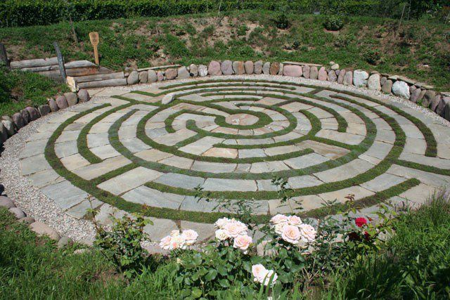 Labirinto a spirale - Giardino Labirinto Kränzelhof Cermes - Museo, ristorante…