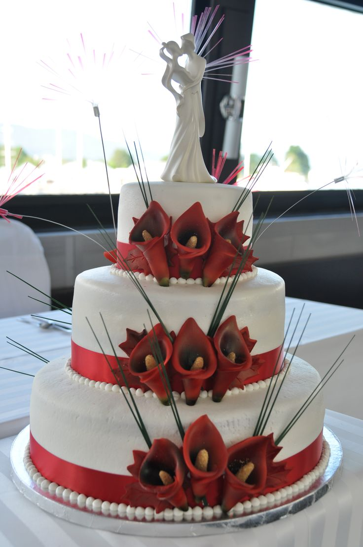 Wedding decoration ideas red and white   best wedding images on Pinterest  Decor wedding Perfect