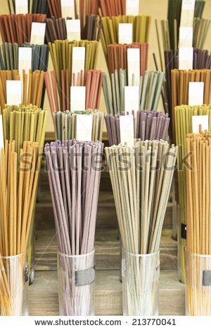Incense Store colorful decoration, object