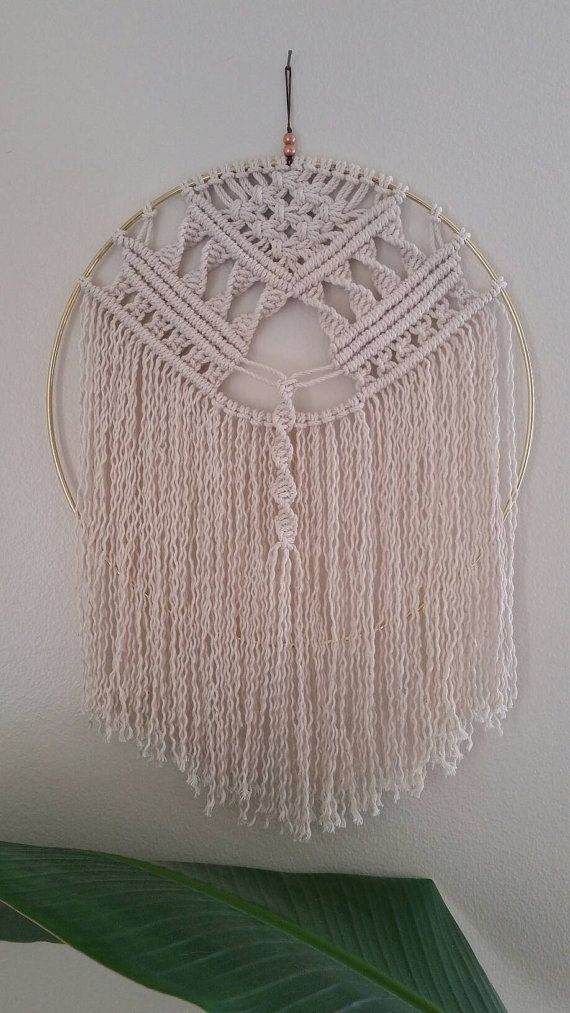 Haven macrame wall hanging dream catcher by