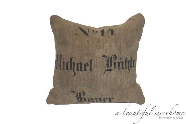 No. 14 Bauer Pillow