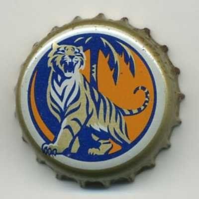 Tapa de botella: Tiger (Hainan Asia Pacific Brewery Company, China) Col:BE-CN-0002