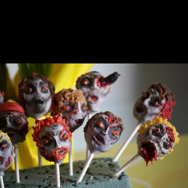 Halloween Cake Pops Uk