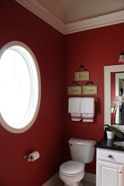7b836bd3dbaa9b87f02e4ae1cad51713--red-bathrooms-guest-bathrooms Vaulted Ceiling Bathroom Design Color on whirlpool tub bathroom designs, basement bathroom designs, walk in closet bathroom designs, cathedral ceiling designs, hot tub bathroom designs, view bathroom designs, sunken tub bathroom designs, laundry room bathroom designs, sloped ceiling bathroom designs, soaker tub bathroom designs, latest bathroom designs, full master bathroom designs, swimming pool bathroom designs, attic bathroom designs, apartment bathroom designs, garden tub bathroom designs, jetted tub bathroom designs, townhouse bathroom designs, tile floor bathroom designs,