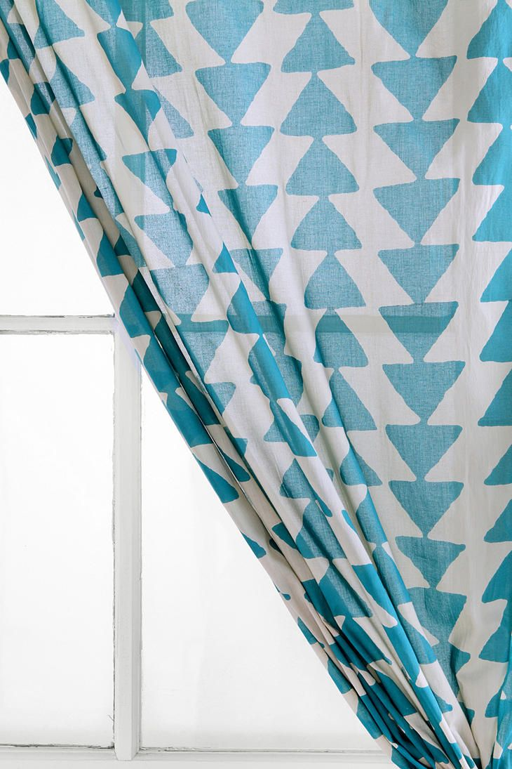 may be too short  Magical Thinking Triangle Chain Curtain  #UrbanOutfitters
