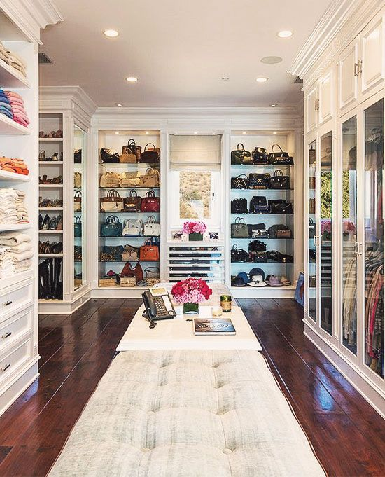 For most women, a dreamy walk-in closet is a must-have feature for any dream house. Who can't resist a space that is filled with your favorite designer dresses, Chanel handbags, jewelry and decorated with fresh flowers? Earlier, we published our favorite closet posts (dreamy walk-in closets and the biggest closet in the world). Since then, we discovered Women's Dresses - Dress for Women - http://amzn.to/2j7a1wP