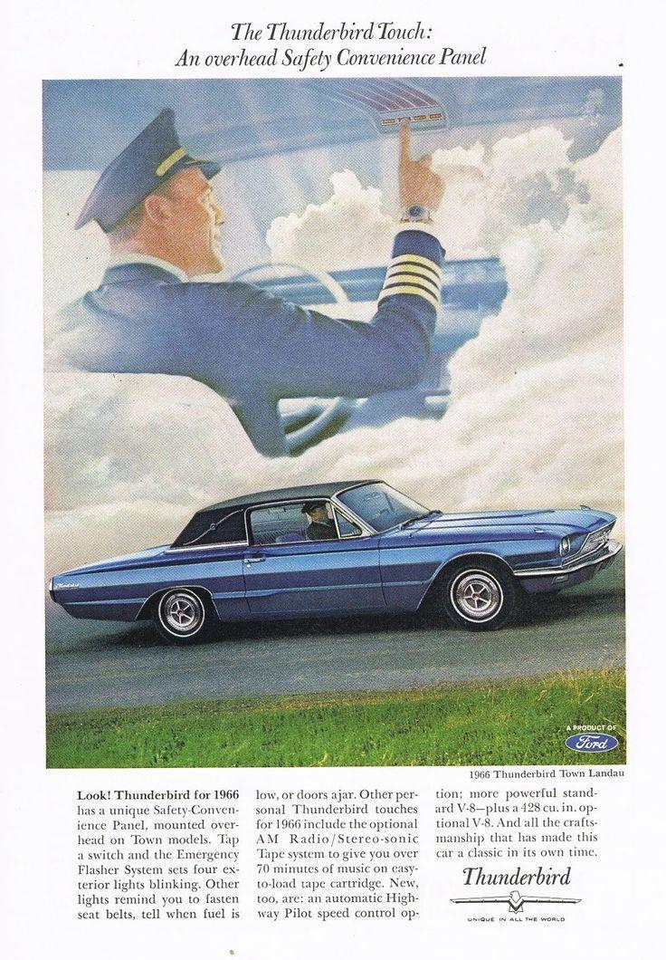 1966 Thunderbird advertising