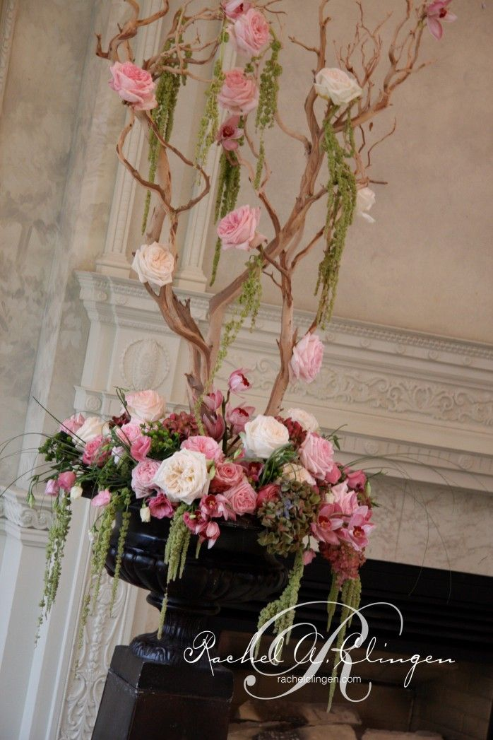 Pink wedding flowers at Graydon Hall Toronto